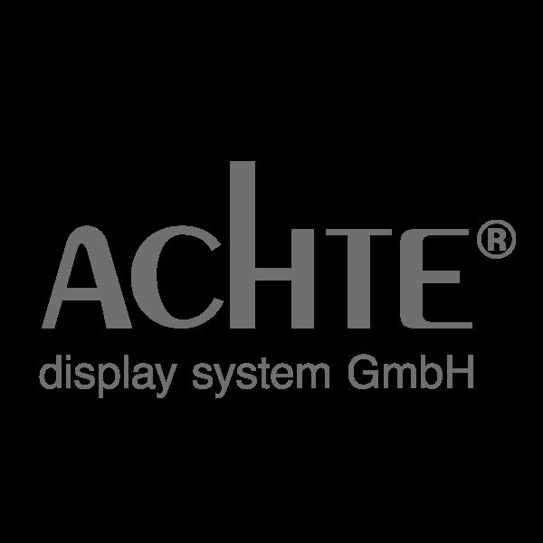 ACHTE display system GmbH - Ihr zuverlässiger Dienstleister rund um Aluprofile, Messebau und Textildruck