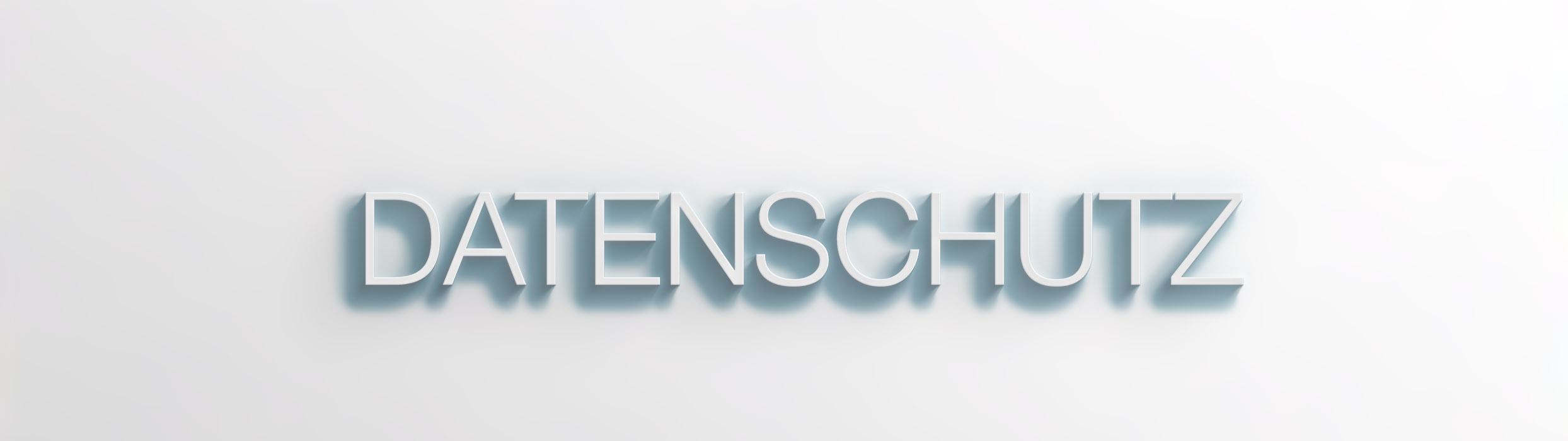 ACHTE_Datenschutz 3D-Text-Effect