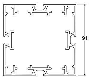 ACHTE Aluminiumprofil 10.70 Zeichnung