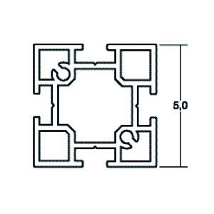 ACHTE Aluminiumprofil 10.76 Zeichnung