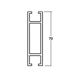 ACHTE Aluminiumprofil ZP7.0 Zeichnung