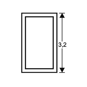 ACHTE Aluminiumprofil ZP32k Zeichnung