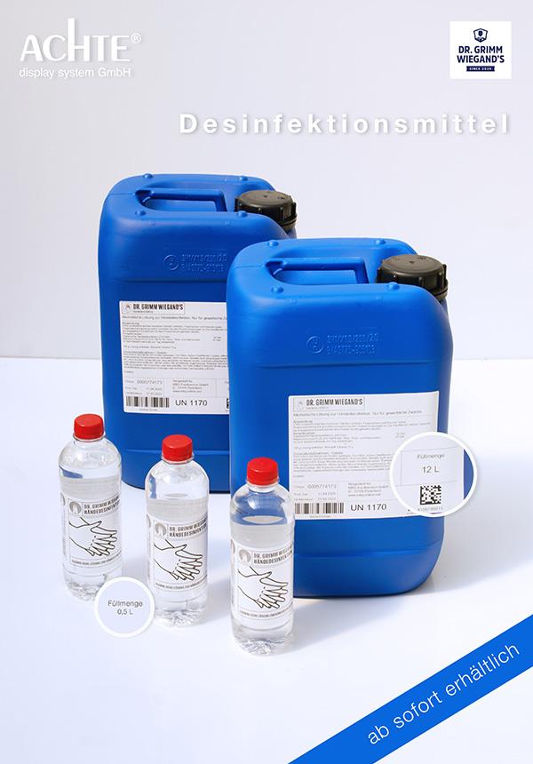 Desinfektionsmittel Dr. Grimm