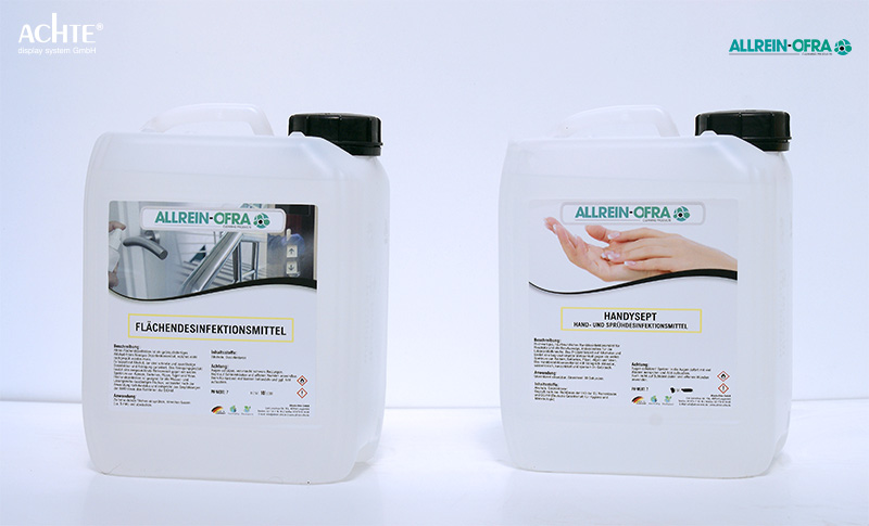 Desinfektionsmittel Allrein-Ofra