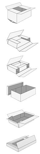 Grafik Paketformen