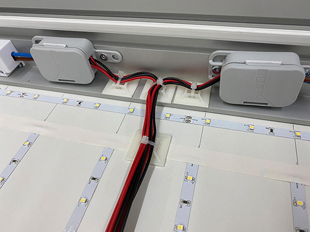 LED Verkabelung