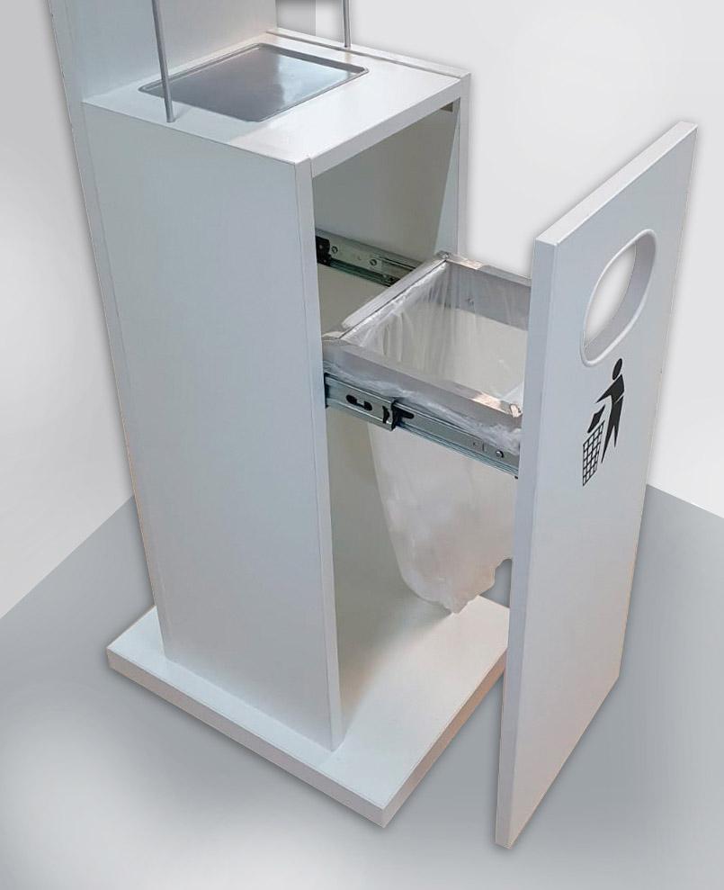 Desinfektionsstation untere Box