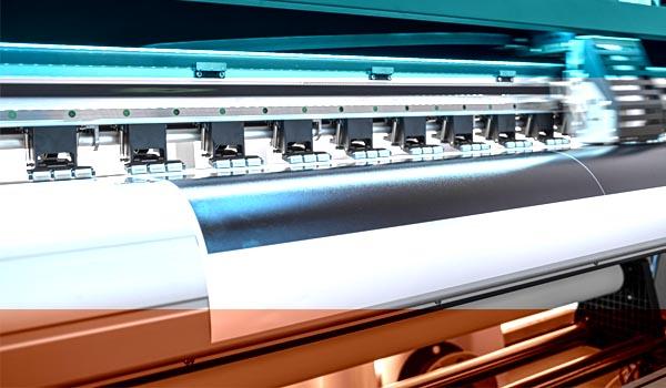 Großformatdruck auf Textil